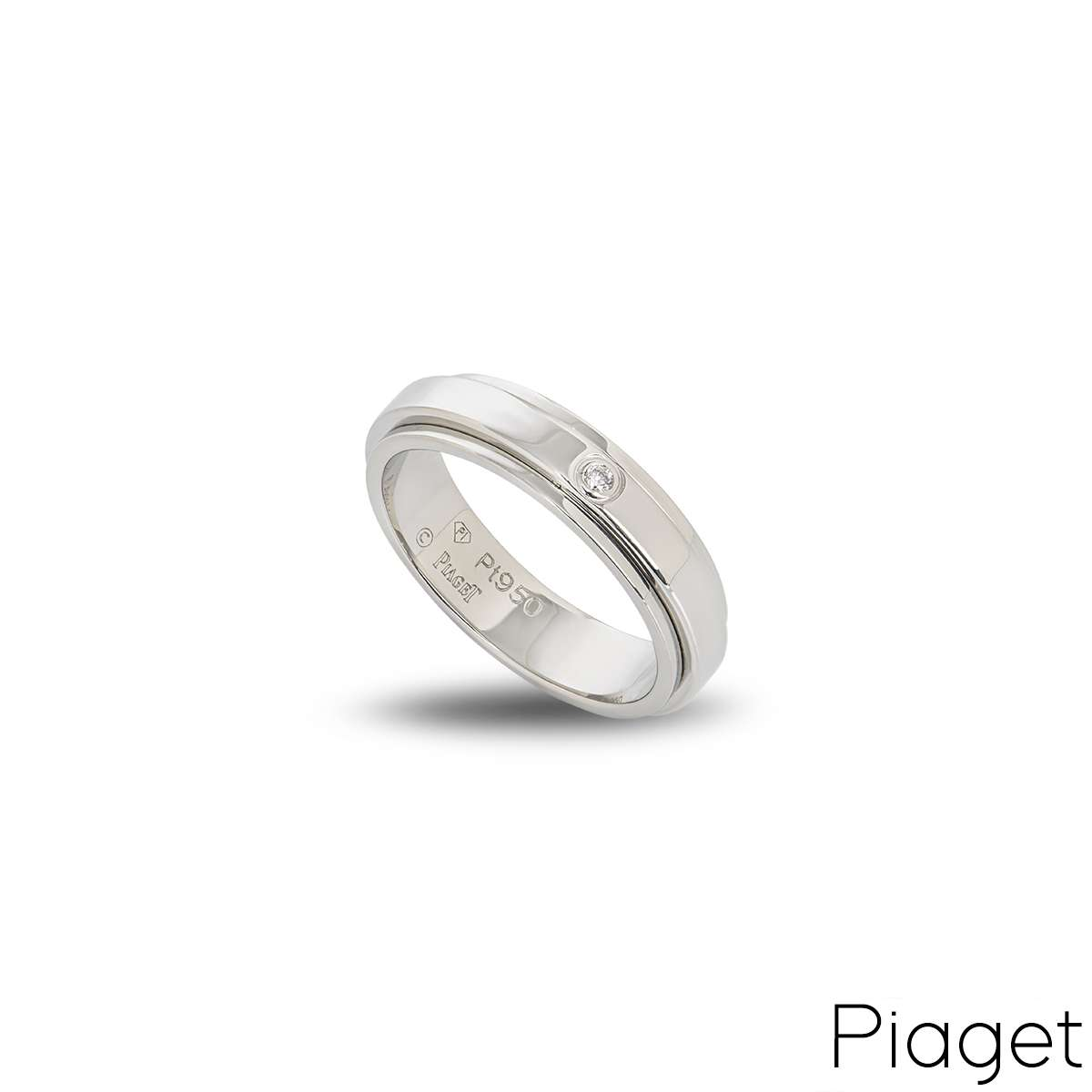 Piaget Diamond Set Possession Ring in Platinum?